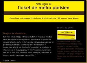 Petite histoire du ticket