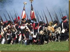 Reconstitution de la bataille de Waterloo