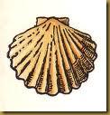 L'emblme des pelerins de St Jacques de Compostelle