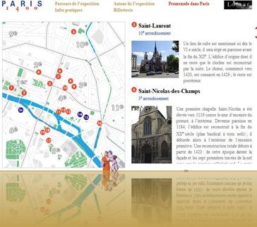 Itinraire Paris 1400