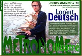 Lorant Deutsch dédicace