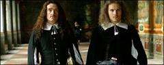 Thierry Frémont (Colbert) et Lorant Deutsch (Fouquet)