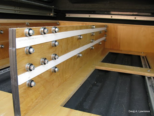 "The drawers are made with 1/2"" birch plywood with 3/4"" fronts. Lever ..."