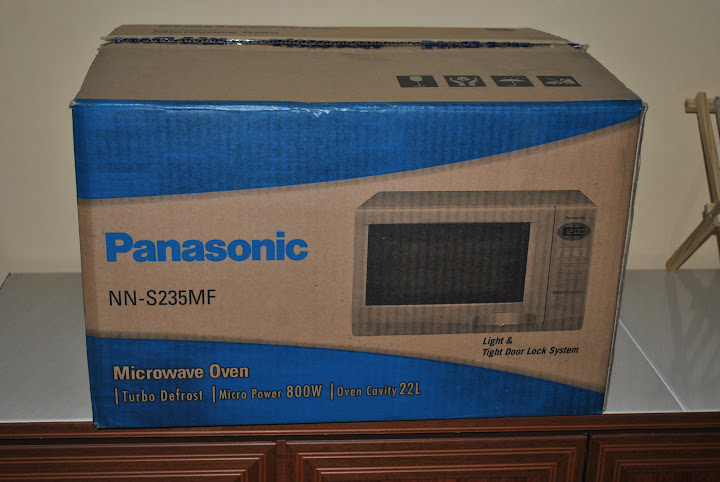 panasonic convection microwave oven manual