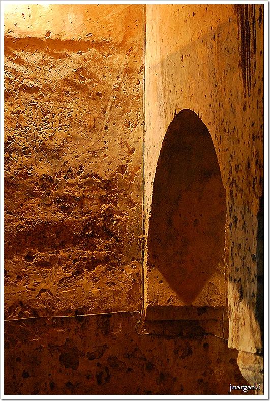Aljibe del palacio de las Veletas.