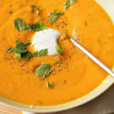 Carrot Soup with Mint