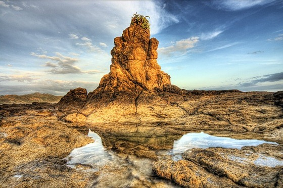 Camaronal_HDR_North_End_Rock