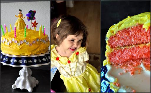 cake and princess