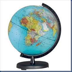Terra Political Globe - 10' Diameter