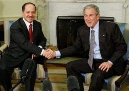 Barzani and Bush