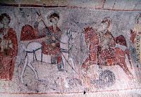 St. George ve St. Theodore ejder öldürüyorlar