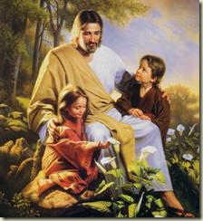 Jesus e as criancas