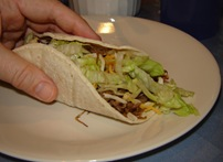 Shredded Beef Soft Taco