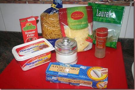 Ingredientes Receta Macarrones Gratinados Con Atun