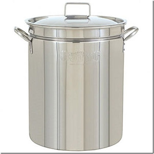 Stainless Steel Stockpot with Lid