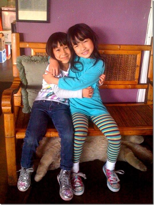 Maisie & Camille 2