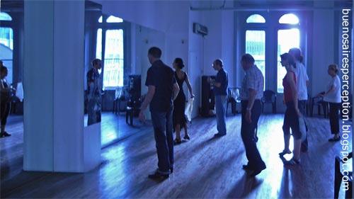 Escuela de Tango - Tango School at Galeria Pacifico Downtown Buenos Aires, Argentina