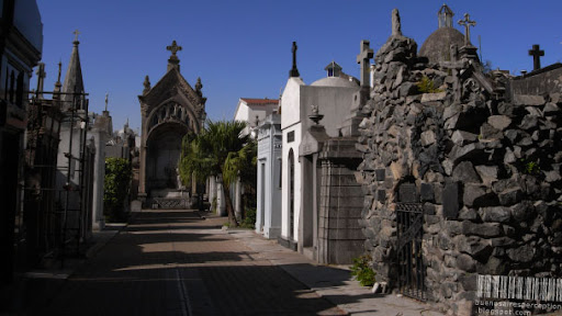 Recoleta Cemetery, Burial Place for the Aristocrats and the Rich in Buenos Aires, Argentina