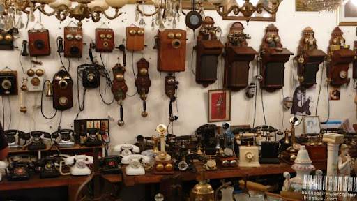 Nostalgic Telephones in an Antique Store in the San Telmo neighborhood of Buenos Aires, Argentina