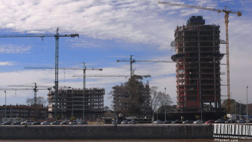 Building Boom in Puerto Madero Buenos Aires, Argentina