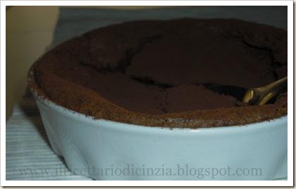 torta cremosa con il cioccolato