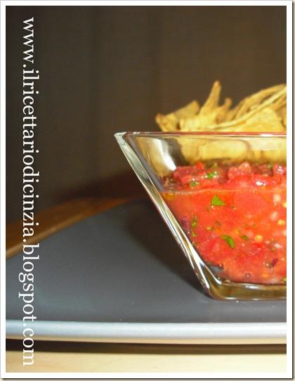 Salsa piccante per nachos