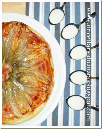 tarte tatin di indivia belga e pancetta