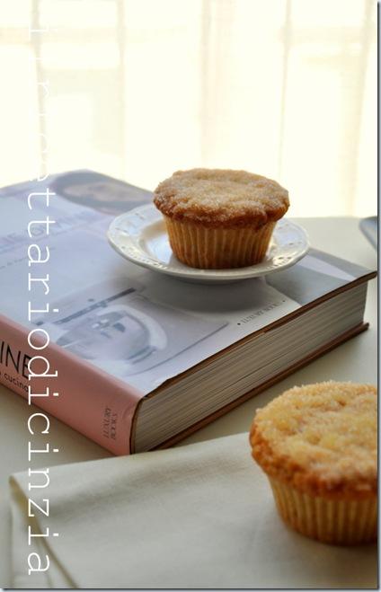 Muffin in stile krapfen alla marmellata