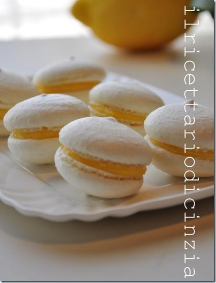Macaron al limone