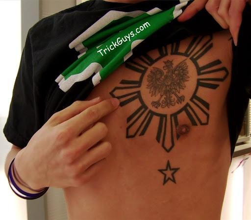adidas philippine flag jacket philippine sun tattoo