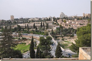 View of Hinnom Valley from JUC Rooftop