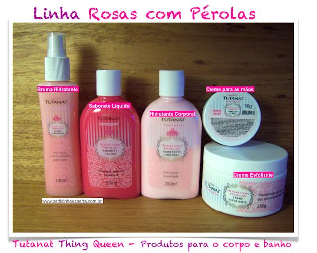 Kit Rosas com Pérolas Tutanat Thing Queen