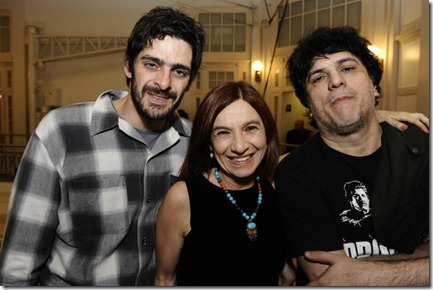 Júlio Machado, Tuna Dwek e Mário Bortolotto