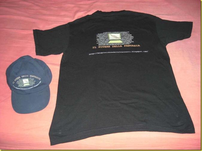 maglietta e cappello potere della fantasia