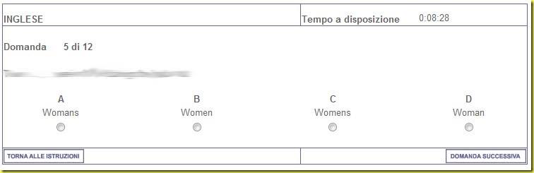 test Ikea inglese