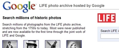 google life archive