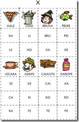 jogo das sílabas X