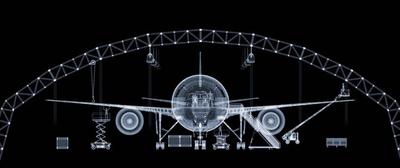 Nick Veasey - Boeing 777