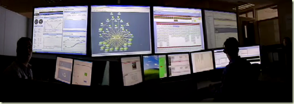 Ancestry.com data center operations control room