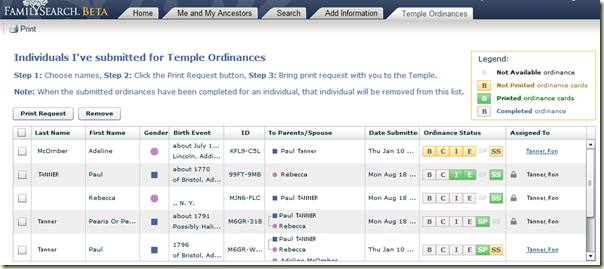 New New FamilySearch Temple Tab