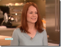 Anastasia Harman appearance on the Martha Stewart show