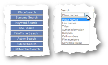 FHL Catalog search type