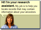 The FamilySearch research assistant