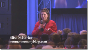 Elisa Scharton asks a question in Richard G. Scott's session