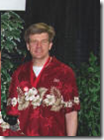 Jay Verkler in Aloha Shirt in Las Vegas
