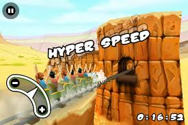 Free Download Games, 3D Rollercoaster  Rush Underground  for Nokia s60v5