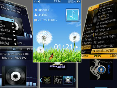 TTPod 3.80 Beta 2 Free Download Application, TTPod 3.80 Cracked Full Version: energetic music player for s60v3