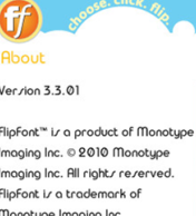 FlipFont Free Download Application, FlipFont v3.3.01 Full Version: How to change font on s60v3 and s60v5