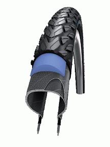 Marathon Plus Tour - Flatless Wired Touring Tyre - $80