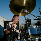 Durango Mexico Stadium Crusade Chovi drumming.jpg